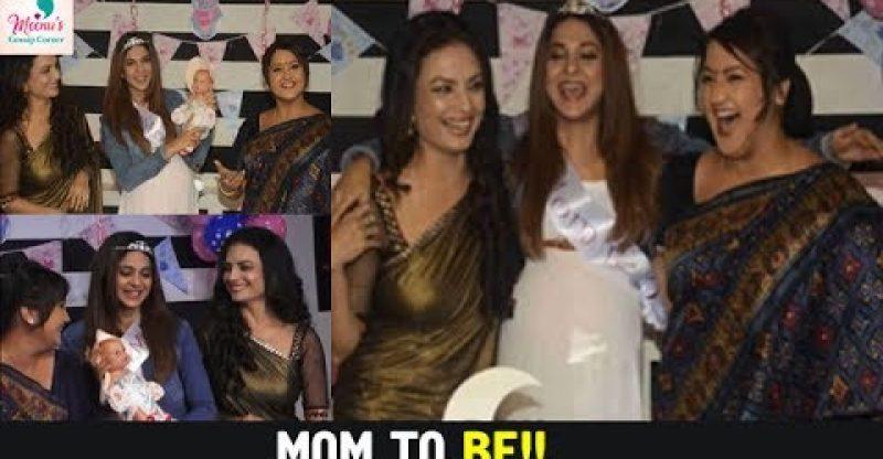 Jennifer Winget Baby shower on Beyhadh | Kushal Tandon ...